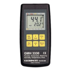 GMH3330 Digital precision humidity/flow/temperature measuring device