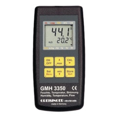 GMH3350 Digital precision humidity/flow/temperature measuring & logging device